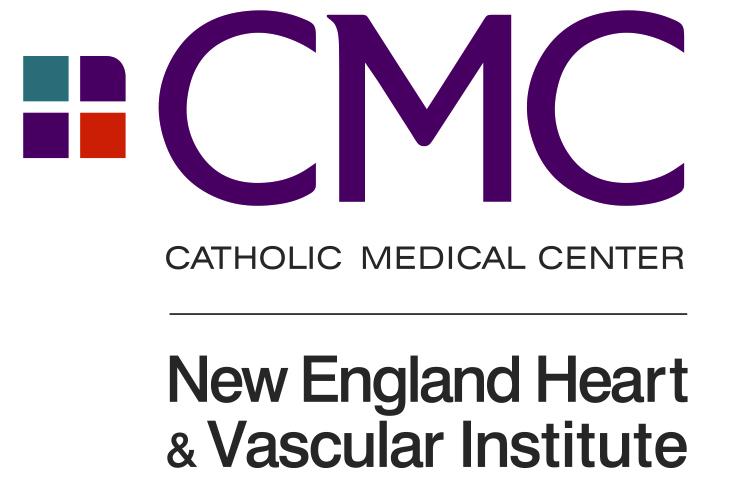 Catholic Medical Center New England Heart and Vascular Center Sponsor Logo